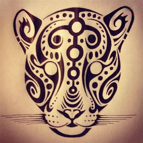 leopard tribal tattoo leopard drawing tribal leopards