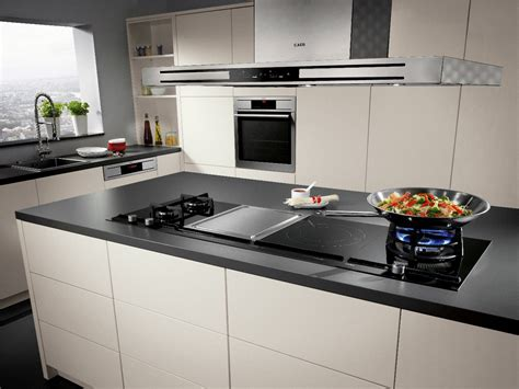Modern Kitchen Designs 2014 stunning new modular hobs from aeg s neue kollektion