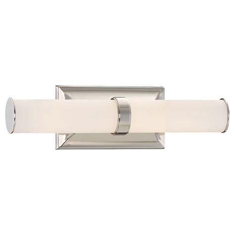 Led Bathroom Fixtures Minka Lavery Pearl Bath 3 Light Polished Nickel Vanity Light 2903 613 L The Home Depot