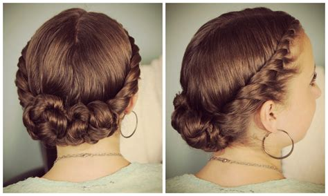 twist updo hairstyles double twist bun updo homecoming hairstyles cute girls