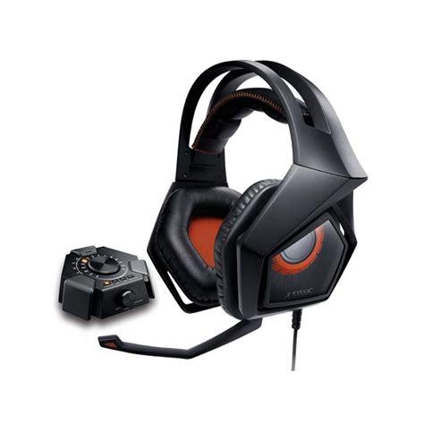 Jual Headset Asus Strix Pro Harga Jual Asus Strix Dsp Gaming Headset 60mm Neodymium Magnet Driver And Play Usb Audio