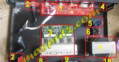Saklar Selector Input lutfilupek cara mudah merakit power lifier 200 watt stereo