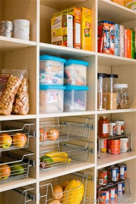 adjustable pantry shelving kitchen remodel ideas