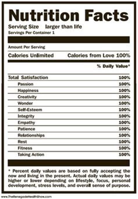 imgs for gt blank nutrition label template