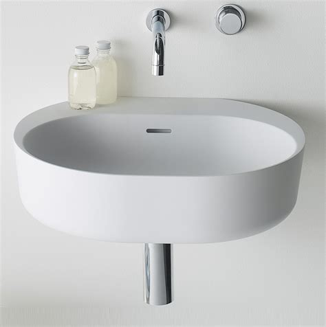lilli 550 wall basin by omvivo just bathroomware