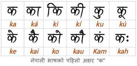 Letter Ka Format nepali script gallery cv letter and format