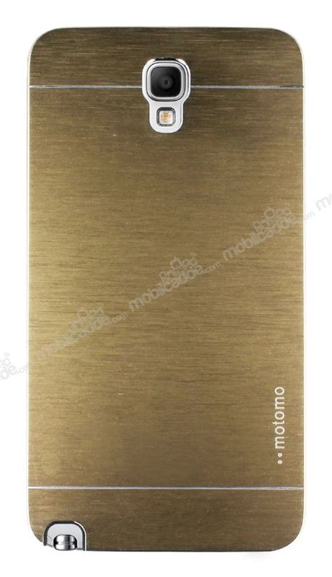 Samsung Galaxy Note 3 Neo Motomo Metal Brushed Cover Casing Keren motomo samsung n7500 galaxy note 3 neo metal gold kılıfmobilcadde