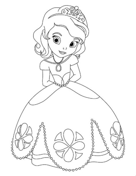 coloring pictures of baby princess free coloring pages of disney baby princesses