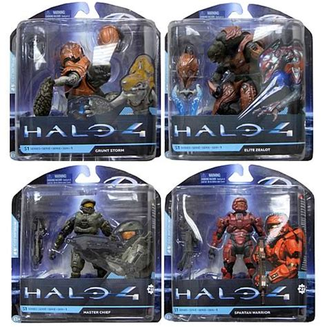 halo toys for sale halo 4 series 1 figure set mcfarlane toys halo