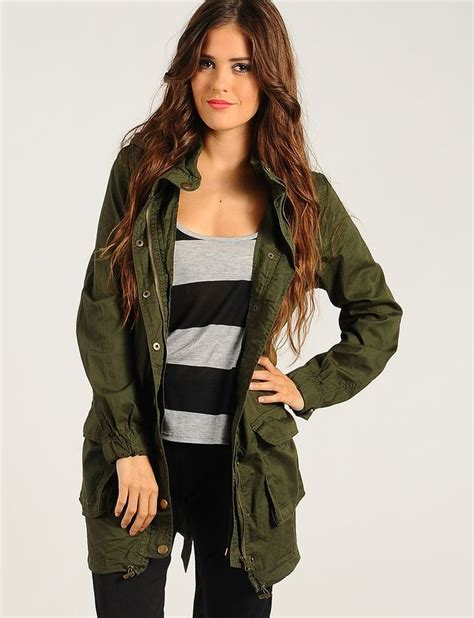 Parka Green Army List Parka Army Premium green duty parka jacket 18 50 cheap trendy jackets chic discount fashion