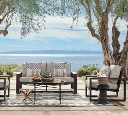 patio furniture pottery barn how to clean your outdoor furniture pottery barn