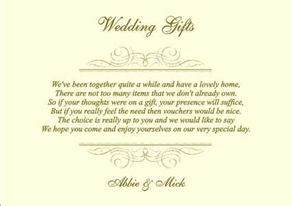 Wedding Gift List Poems wedding gift list poems wedding bridal