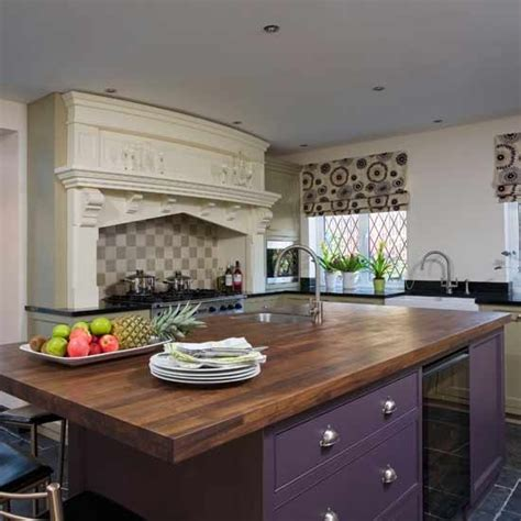 kitchen unit ideas purple kitchen units kitchens design ideas