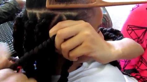 marley twists havana twists rubberband method youtube