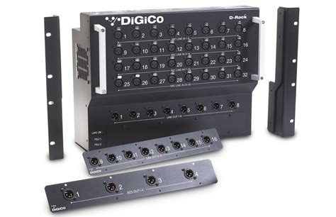 Rack To by Digico D Rack Floor Mount 32 In 16 Out Stage Box