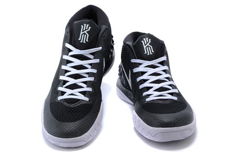 nike kyrie irving 1 black white basketball shoes cheap for