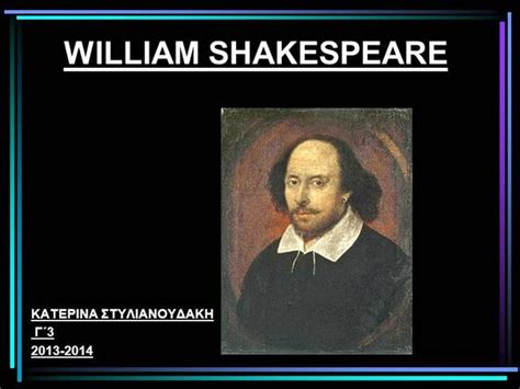 shakespeare powerpoint template william shakespeare 2014 authorstream