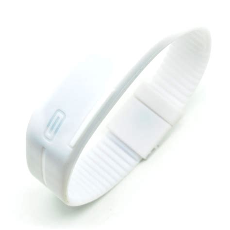 Jam Tangan Led Nike Malaysia jam tangan led gelang sport no logo white jakartanotebook