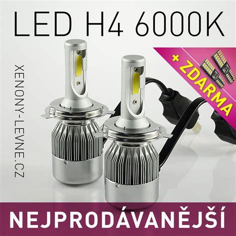 Led C6 H4 6000k Led Headlight Akce C6 Led Headlight H4 6000k 36w