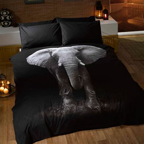 Elephant Bed Sets Elephant Doona Cover And Pillowcase Set Bedroom Bedding Free P P Ebay