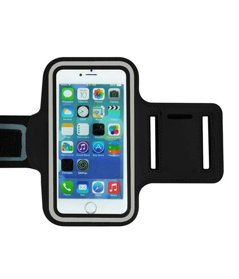 Dijamin Armband Pouch For For Iphone 6 callmate armband pouch for iphone 6 4 7 inch with free screen guard black mobile cover