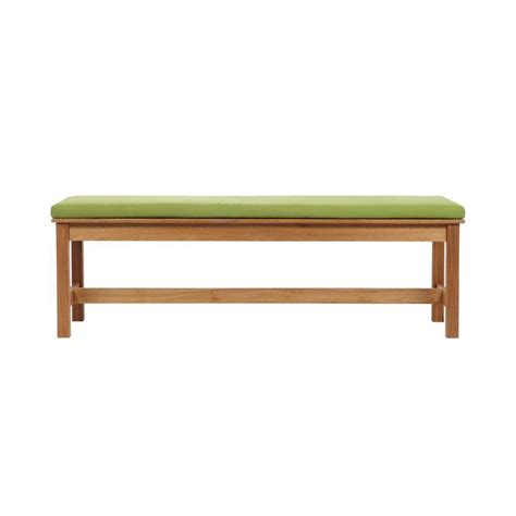 Home Decorators Bench by Home Decorators Collection Cumberland Smoked Patio Dining Bench 0838300460 The Home Depot