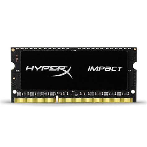Kingston 2gb Ddr3l Pc12800 Sodimm Notebook Ram kingston technology hyperx impact 8gb 1600mhz ddr3l cl9