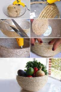 Diy Home Decor Crafts Diy Rope Craft Projects To Do At Home