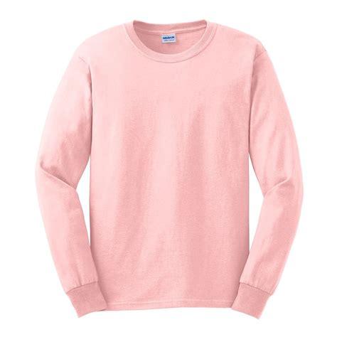 Light Pink Sleeve Shirt by Gildan G2400 Ultra Cotton Sleeve T Shirt Light Pink