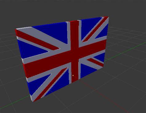 united kingdom flag 3d model obj fbx ma mb cgtrader uk flag 3d model obj