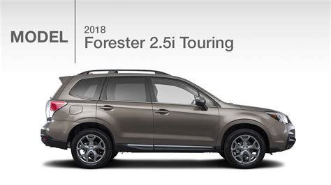 subaru forester touring 2018 2018 subaru forester 2 5i touring model review