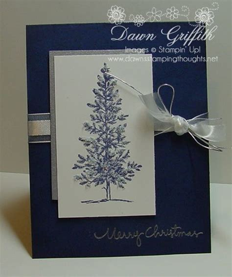 simple  elegant stamped christmas cards homemade christmas cards christmas cards handmade