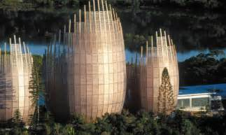 Native House Design by Jean Marie Tjibaou Cultural Center By Renzo Piano