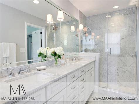 white marble bathrooms white master bathroom ideas master