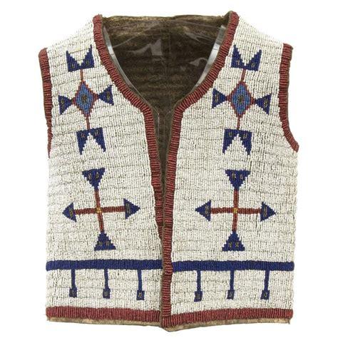 beaded vest american antique american beaded child s vest sioux plains
