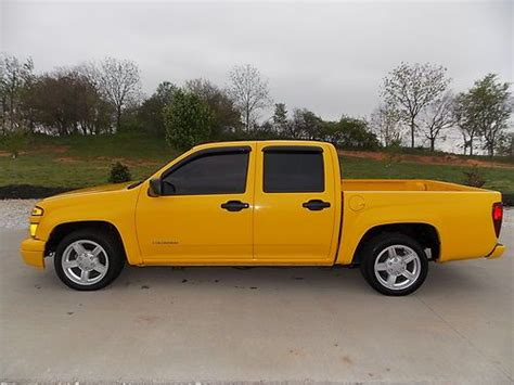 find used 2004 chevrolet colorado ls crew cab shortbed