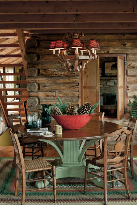 Log Cabin House Tour Decorating Ideas For Log Cabins | beautiful country christmas decorating ideas festival
