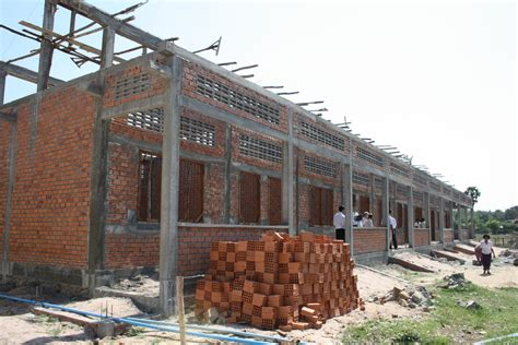 construction of a house cambodia construction of a school building in cambodia