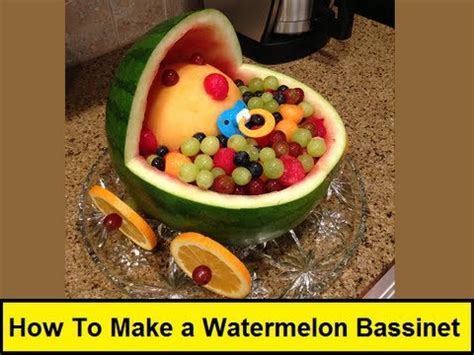 baby shower watermelon bassinet how to make a watermelon bassinet howtolou