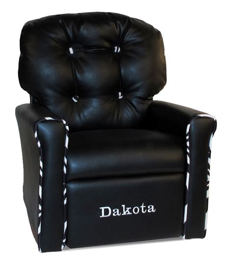 black faux leather rocker recliner personalized 4 button faux leather rocking recliner