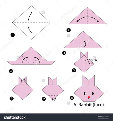 How To Do Origami Step By Step - origami rabbit yoshizawa origami