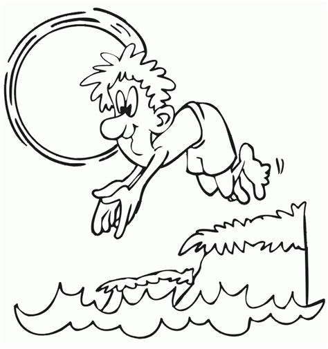 boiling water coloring page banho no mar hd desenhoswiki com