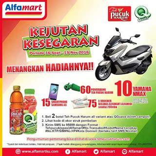 Teh Pucuk Harum Di Alfamart by Undian Berhadiah 2017 Undian Undian Alfamart