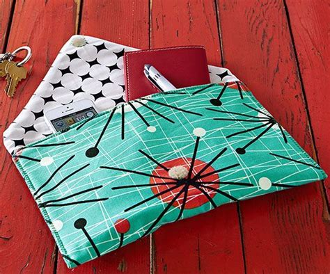 printable envelope clutch pattern bags patterns and christmas presents on pinterest