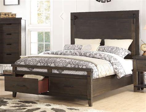 Montana Bedroom Set by Rustic Contemporary Brown 6 Bedroom Set