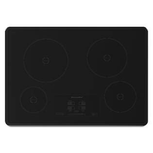 kitchen aid induction cooktop kitchenaid kicu500xbl 30 quot electric induction cooktop