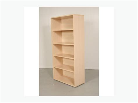3 light maple wood bookcases book east