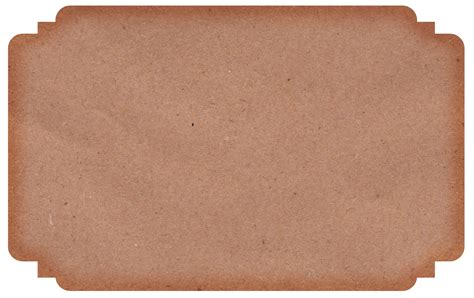 Transparent Craft Paper - free kraft paper labels call me