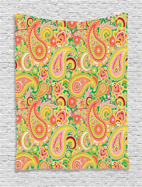 paisley pattern wall art persian paisley pattern and eastern elements vintage decor