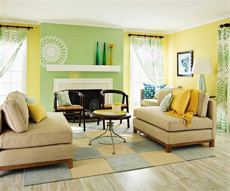 Yellow And Green Living Room Walls Yellow And Green Living Room For The Home